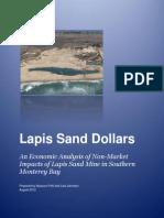 lapis sand dollars