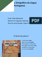 ACORDO ORTOGRÁFICO JANEIRO DE 2013