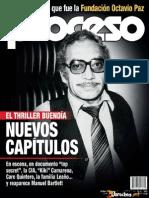 Revista Proceso 1953 Vividores%2C en Lo Que Fue La Fundaci%C3%B3n Octavio Paz EL THRILLER BUEND%C3%8DA