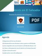 Tasa de Interés en El Salvador
