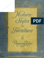 Historic Styles Furniture - 1916