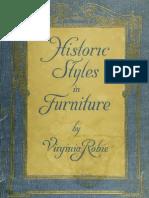 Historic Styles Furniture - 1916