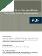 Estructuras de Los Textos Académicos