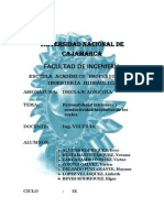 Permeabilidad Intrínseca y Conductividad Hidraulica de Ls Suelos