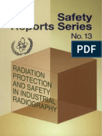 Safety Reports Series No. 13 (Radiation Protection and Safety in Industrial Radiography)