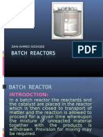 Batch Reactors
