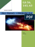Rudolf Steiner - Nebo, Pakao i Problem Zla