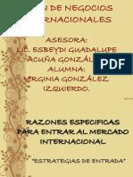 Exposicion Plan de Negocios Internacionales