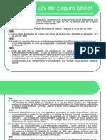 3.- Historia de La Ley Del Seguro Social