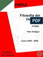 Filosofia Del Derecho - Plan Antiguo