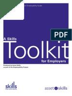 SkillsTool Kit for Employers (Training Needs)