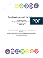 Social Justice Through the Chakras