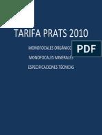 Tarifa Prats 2010