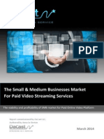 The Small & Medium Businesses Market For Paid Video Streaming Services - DaCast White Paper