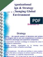 Organizational Strategy