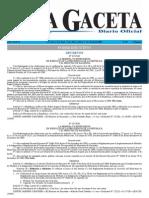 Decretos- La Gaceta 65-1 ABR-2004