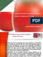 Presentación Trabajos Tomates