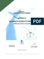 Utilizacion Pilas Geopier Parque Eolico