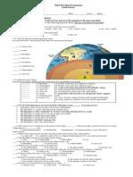3rd Periodical Exam 2014