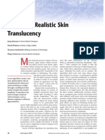 Real Time Realistic Skin Translucency