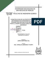 CONTRUCCIONDEUNPROTOTIPOPARALADETERMINACIONEXPERIMENTALDELOS