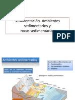 Ambientes y Rocas Sedimentarias