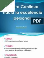 2.Mejora Continua Hacia La Excelencia Personal