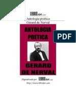 Gerard de Nerval,Antologia Poetica