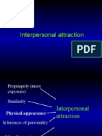 Interpersonal Attraction