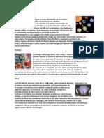 Astronomiam Biologia, Fisica, Quimica