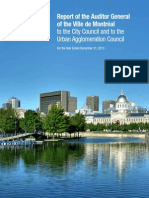 Auditor general's report