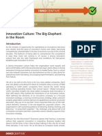 Innovation Culture the Big Elephant in the Room