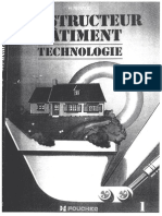 Constructeur de Batiment Technologie de H Renaud Vol 1