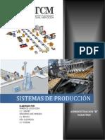 Administración de Los Sistemas de Producción