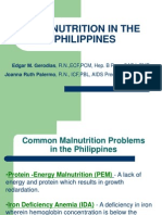 Malnutrition in the Philippines