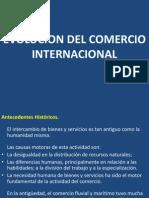 1. Evolucion Del Comercio Internacional