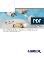 Lumex HP Leds TechNotes