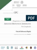 GRR Absceso Hepxtico Amebiano