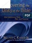 Recovering the Unity of the Bible by Walter Kaiser, Jr., Excerpt