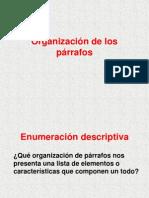 Organiza de Párrafos.hc