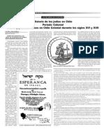 Historia de Los Judios en Chile