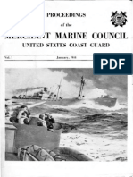 USCG ProceedingsVol1 No1 Jan1944