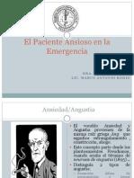 Seminario Emergencia TX Ansiedad