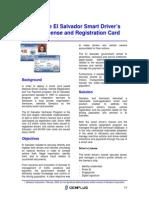 Gemplus Proyecto Licencia Conducir El Salvador