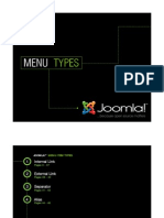 Joomla! v 1.5 Menu Types