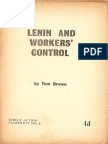 Lenin and Workers' Control - Tom Brown