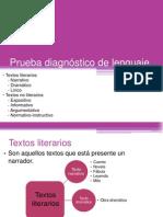 Prueba Diagnóstico de Lenguaje