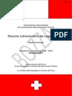 Limnologia Lago Di LUGANO Rapporto2011
