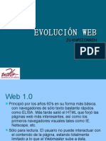 EVOLUCIÓN WEB