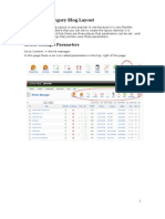 Joomla! v 1.5 Category Blog Layout